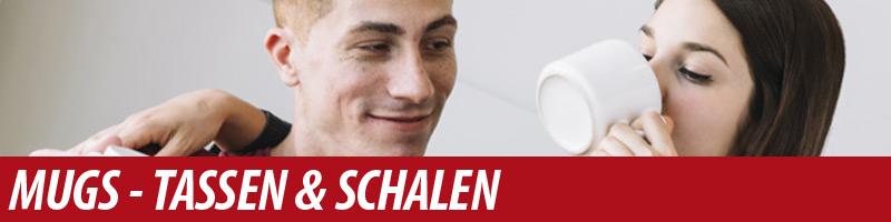 Bedruckte Tassen, Schalen, Teegläser Druck Mugs