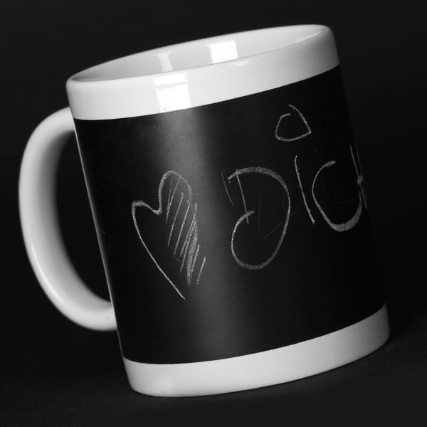 Kaffeetassen Kreide Wandtafel Tasse beschreibbar Gläser Tassendruck