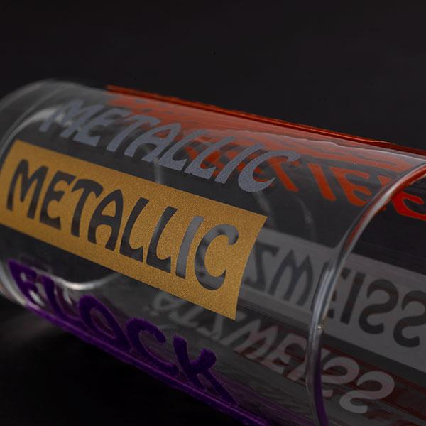 Tassendruck Glasdruck Metallic Farben Glöser Druckerei bestellen Shop
